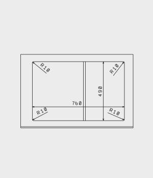 мойка флорентина гаттинара 780 схема