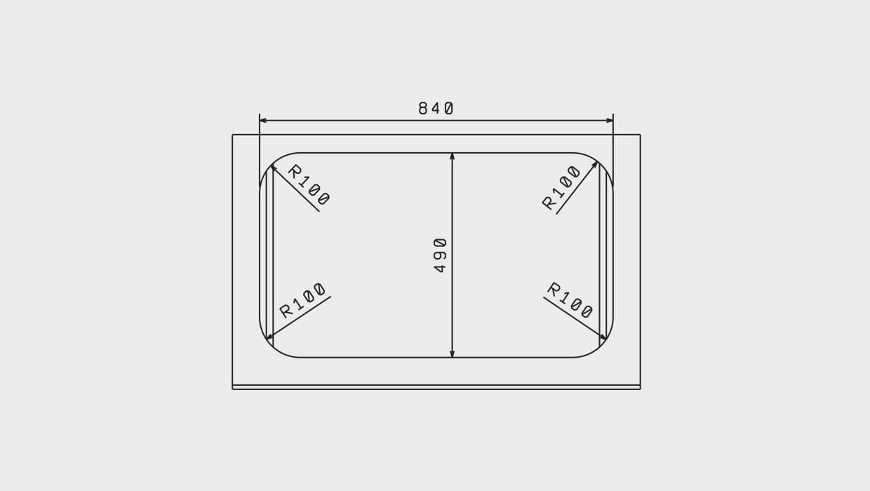Мойка Флорентина Крит 860 схема чертеж